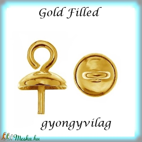Gold Filled medálkapocs EMK 69 G  - Meska.hu