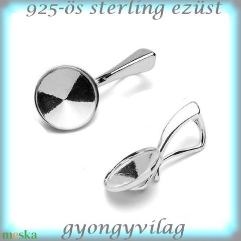 925-ös ezüst medálkapocs EMK 55-10 - Meska.hu