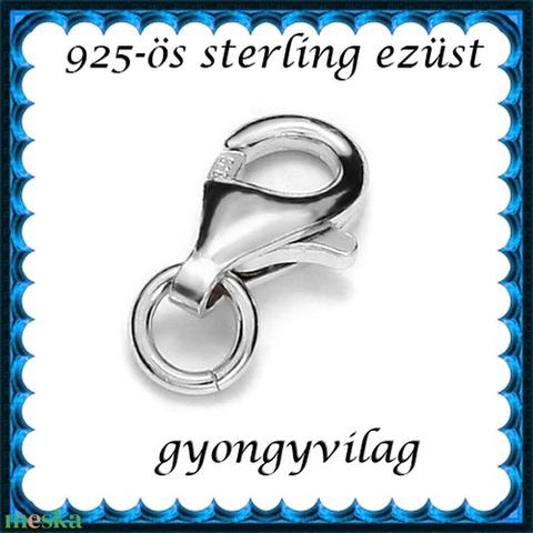 925-ös sterling ezüst ékszerkellék: lánckalocs  ELK 1S 19-11 - Meska.hu