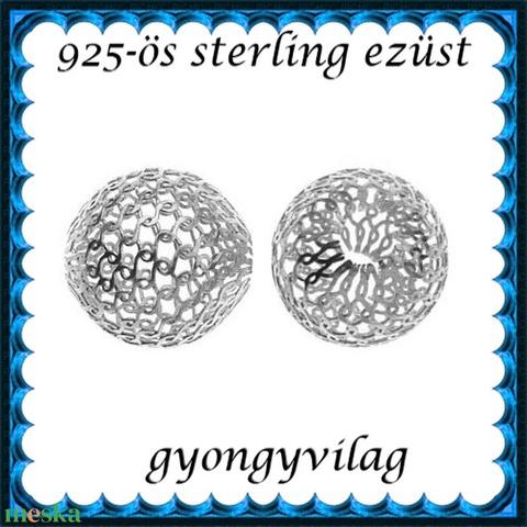 925-ös sterling ezüst ékszerkellék: köztes / gyöngy / dísz EKÖ 26-6 - Meska.hu