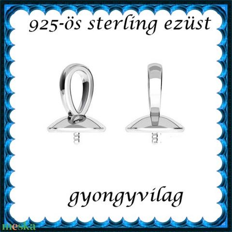 925-ös sterling ezüst ékszerkellék: medálkapocs EMK 68 e - Meska.hu