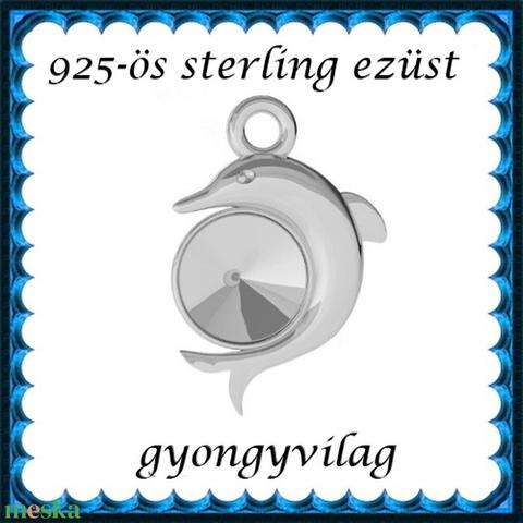925-ös sterling ezüst ékszerkellék: medál / pandora / fityegő EM22 - Meska.hu
