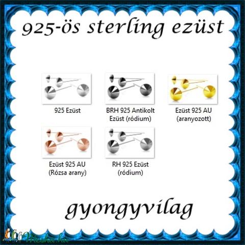 925-ös sterling ezüst ékszerkellék: szerelőpálca SZP-SP 01 - Meska.hu