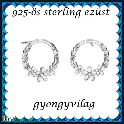 925-ös sterling ezüst: fülbevaló  EF 03 - Meska.hu