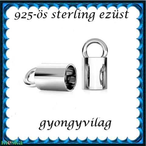 925-ös ezüst  lánckapocsvég  ELK V 14-4 - Meska.hu