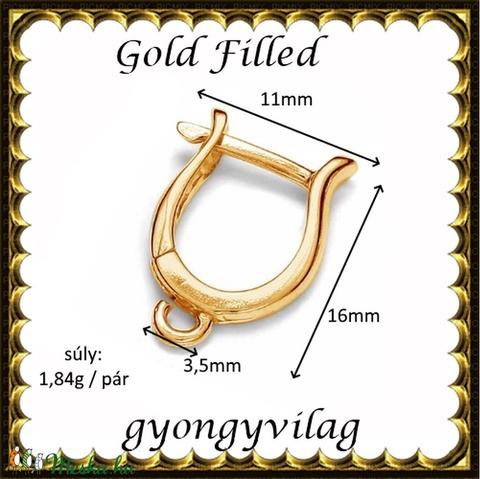 Gold Filled fülbevalókapocs EFK K 30g - Meska.hu