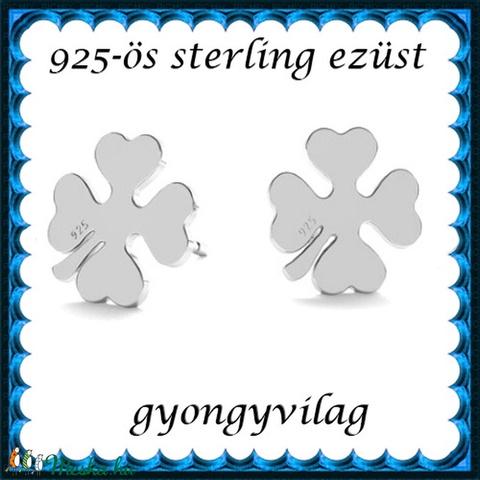 925-ös sterling ezüst: fülbevaló  EF 10e - Meska.hu