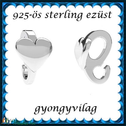 925-ös sterling ezüst ékszerkellék: medáltartó, medálkapocs EMK 98 AG - Meska.hu