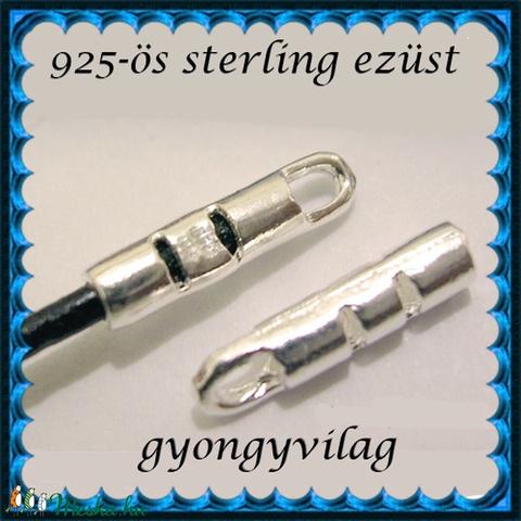 925-ös ezüst  lánckapocsvég 1,8mm-es 2db/cs ELK V 13-1,8 - Meska.hu