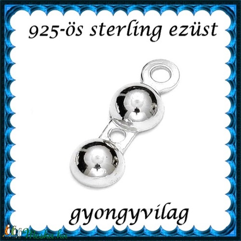 925-ös ezüst csomótakaró ECST 06-4e - Meska.hu