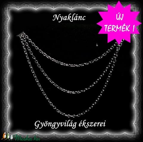 Ékszerek-nyakláncok: 925-ös sterling ezüst lánc SSZ-EÜL 05-42-1e - Meska.hu