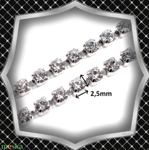 Ékszerek-nyakláncok: Esküvői, alkalmi nyakkendő-nyaklánc, ES-NYK01-e - Meska.hu