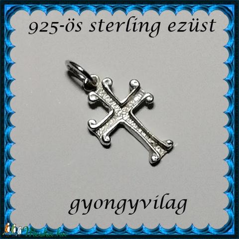 925-ös sterling ezüst medál EM-02 - Meska.hu