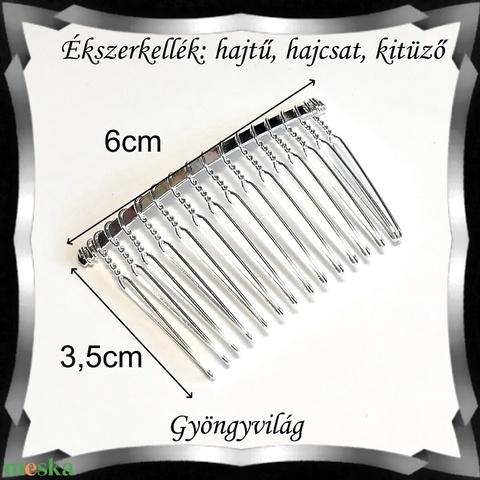 Ékszerkellék: hajtű, hajcsat, kitűző több színben BEK H02 15 - Meska.hu