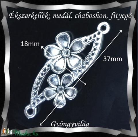 Ékszerkellék: medál, caboshon, fityegő BMCF-15e 1db/cs - Meska.hu