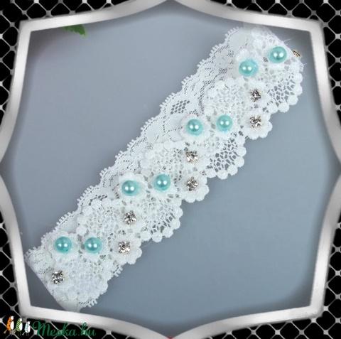 Esküvői, menyasszonyi harisnyakötő  ES-HK18 - Meska.hu