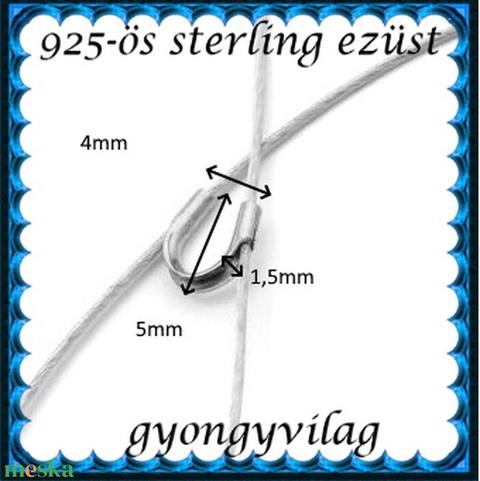 925-ös ezüst medáltartó EMT 08e - Meska.hu