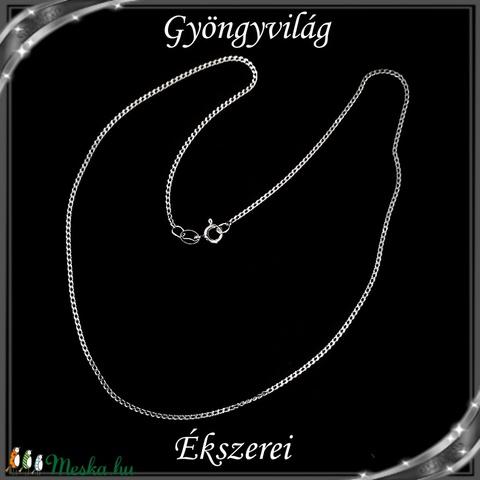 Ékszerek-nyakláncok: 925-ös sterling ezüst lánc SSZ EÜL 13-40e - Meska.hu