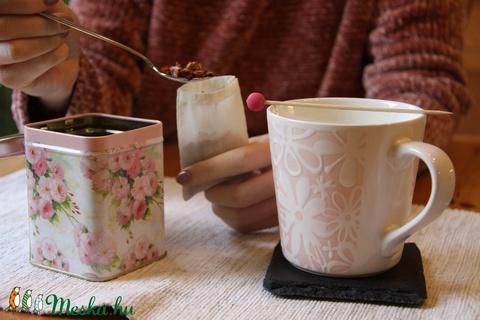Újra-teafilter textilből (haBEAs) - Meska.hu