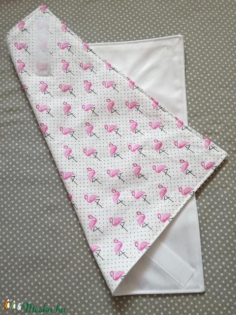 Szendvicsbatyu (pink flamingós) (hamibatyu) - Meska.hu