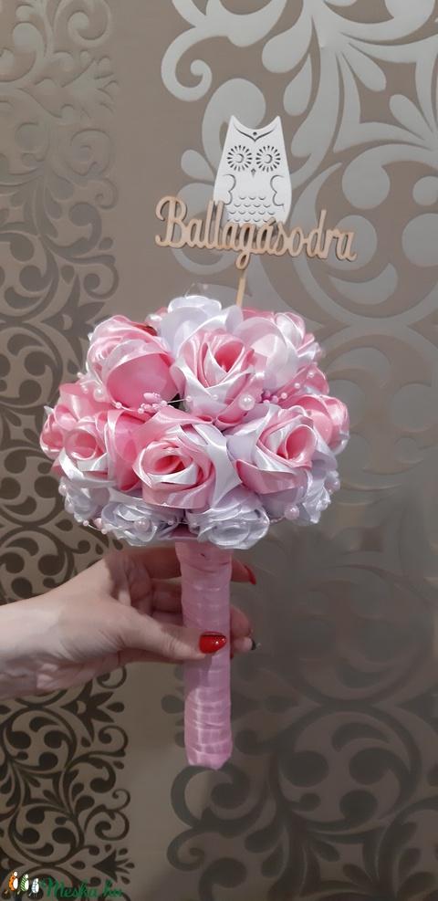 Menyasszonyi csokor (Harisnyaviragbazar) - Meska.hu