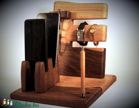 2 Mobil-, szemüveg-, 2 óra-, toll tartó, asztali rendező (hollossybela) - Meska.hu