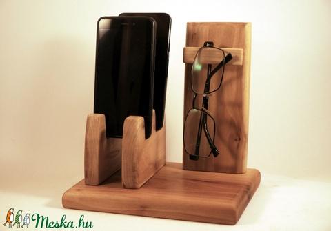 2Mobil-, szemüveg-, vagy óra-,  tartó, asztali rendező (hollossybela) - Meska.hu