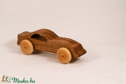 Játék faautó, fakocsi, sportkocsi (hollossybela) - Meska.hu