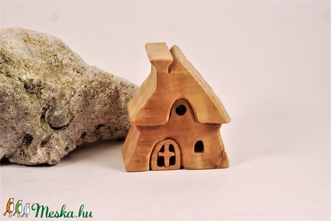 faház, fa építő, házikó (hollossybela) - Meska.hu
