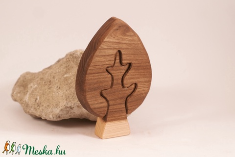 Fa fa, fa építő, kirakó - Meska.hu