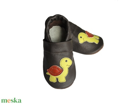 Hopphopp puhatalpú cipő - Teknős (Hopphopp) - Meska.hu