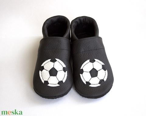 Hopphopp puhatalpú cipő - Focis / Fekete (Hopphopp) - Meska.hu