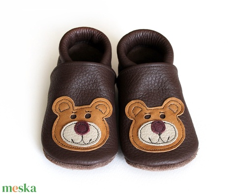 Hopphopp puhatalpú cipő - Maci (Hopphopp) - Meska.hu