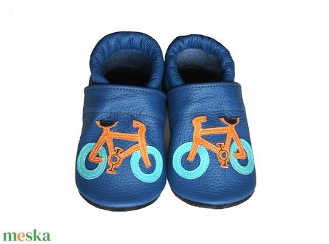 Hopphopp puhatalpú cipő - Biciklis/Kék (Hopphopp) - Meska.hu