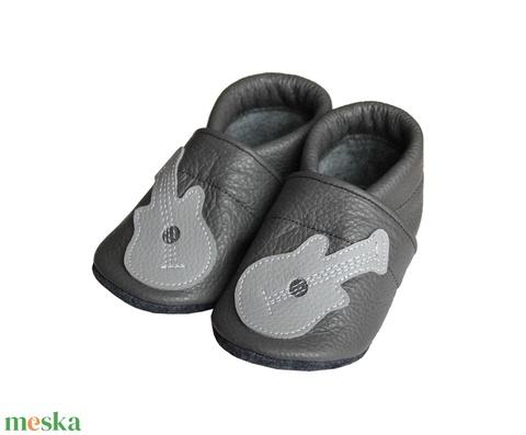 Hopphopp puhatalpú cipő - Gitár/Szürke (Hopphopp) - Meska.hu