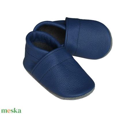 Hopphopp puhatalpú cipő - Kék (Hopphopp) - Meska.hu