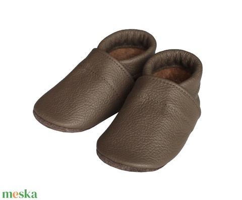 Hopphopp puhatalpú cipő - Kávébarna - Meska.hu