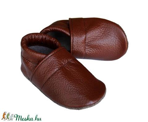 Hopphopp puhatalpú cipő - Barna (Hopphopp) - Meska.hu