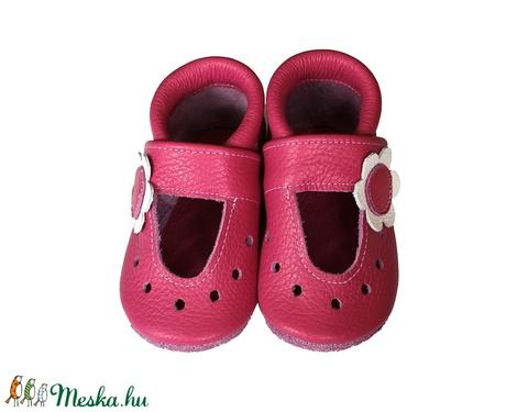 Hopphopp puhatalpú cipő - Virágos szandál/pink (Hopphopp) - Meska.hu