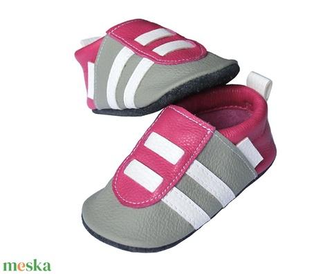 Hopphopp puhatalpú Sportcipő - Pink/világosszürke (Hopphopp) - Meska.hu