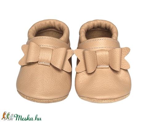 Új!!! Hopphopp puhatalpú cipő - Masnis/púderrózsaszín (Hopphopp) - Meska.hu