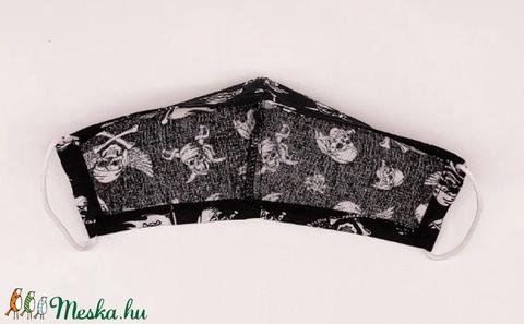Textil arcmaszk egy rétegű - Meska.hu