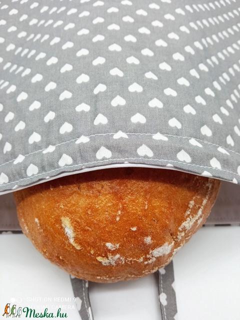 Frissentartó kenyeres zsák - Meska.hu