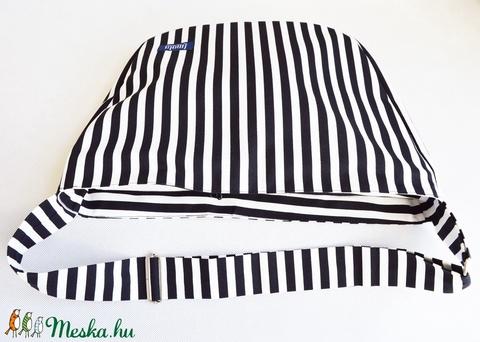 1.1 BASIC KOLLEKCIÓ Válltáska / Oldaltáska / Biciklis táska fekete fehér csíkos - Meska.hu