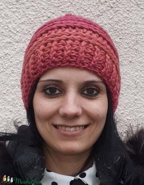 Jazzy Melange horgolt sapka (Izke13) - Meska.hu