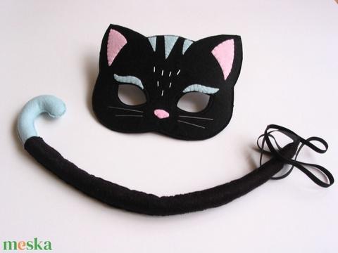 Fekete macska farsangi jelmez szett-RENDELHETŐ! (Jam81) - Meska.hu