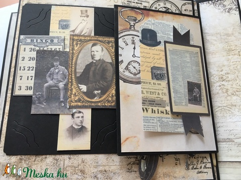 Álmaid albuma - egyedi, kézműves scrapbook album bármilyen jeles alkalomra (Jbgifts) - Meska.hu
