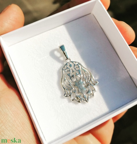 Cavalier King Charles spániel ezüst medál  (jewelledfriend) - Meska.hu