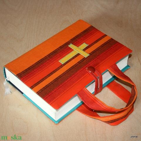 Biblia borító füllel  - Meska.hu