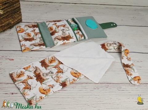 Maxi pelenkatartó táska - Erdei állatok (joeymano) - Meska.hu
